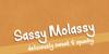 Sassy Molassy Font screenshot design