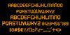 Oxin Brush Font screenshot font
