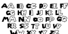 Super Mario Brothers Font Letters Charmap