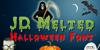JD Melted Font halloween pumpkin