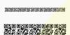 AlphanumericQR Font design screenshot