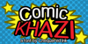 Comic Khazi Font poster cartoon