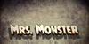 Mrs. Monster Font poster screenshot
