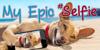 My Epic Selfie Demo Font carnivore dog