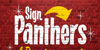 Sign Panthers Script Font poster handwriting