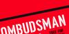Ombudsman Stencil Font design poster