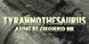 Tyrannothesaurus Font text book