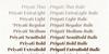 Priyati Font text