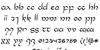 Half-Elven Regular Font Letters Charmap