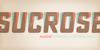 Sucrose Bold Two DEMO Font font poster