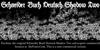 Schneider Buch Deutsch Shadow T Font screenshot poster