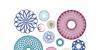 SpiroFace Font pattern circle
