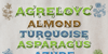 Agreloyc Font poster
