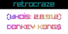 RetroCraze Font text design