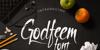 Godfeem Font indoor design