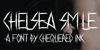 Chelsea Smile Font abstract handwriting