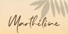 Marthiline Font poster
