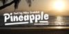 Pineapple Demo Font sky outdoor