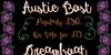 Austie Bost Dreamboat Font text handwriting