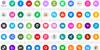 Font Social Media Color 2019 Font screenshot colorfulness