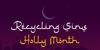 Ramadhan Karim Font moon design