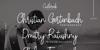 Castlerock Font poster