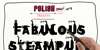 Fabulous Steampunk Font poster design