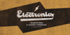 Electronics PERSONAL USE Font poster handwriting