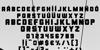 Kiwik Font typography pattern