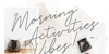 White Angelica Font handwriting letter