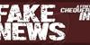 Fake News Font drawing cartoon