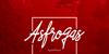 Asfrogas Font design text