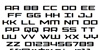 Phoenicia Font Letters Charmap
