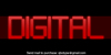 Digital cognitive Font abstract screenshot