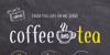 coffee+tea demo Font poster