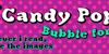 Candy Pop! Font cartoon design