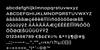 Helmet Font screenshot font