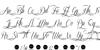 Sverige Script Decorated Demo Font Letters Charmap