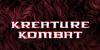 Kreature Kombat Font poster screenshot