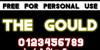 The Gould St Font text screenshot