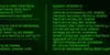 Orbitron Font screenshot green