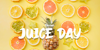 Juice Day Font food