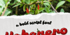 Habanero PERSONAL USE ONLY Font plant leaf