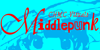 Middlepunk CHMC Font cartoon dog