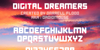 Digital Dreamers Font text screenshot