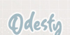 Odesty Font poster