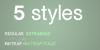 Gogating Book Font screenshot design