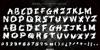 Deathtrap DEMO Font handwriting text