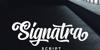 Signatra DEMO Font design typography
