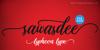 Sawasdee Font design text